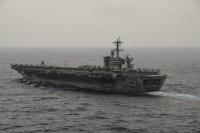 ニュース画像 1枚目:10月29日、南シナ海で撮影されたUSSセオドア・ルーズベルト