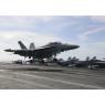 ニュース画像 3枚目:10月30日、南シナ海のルーズベルト艦上で撮影されたVFA-11のF/A-18F