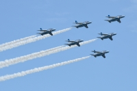 ニュース画像:ブルーインパルス、新年初の訓練は1月7日