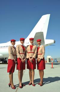 ニュース画像:エミレーツ航空、ビジネスジェット部門のユニフォームをリニューアル