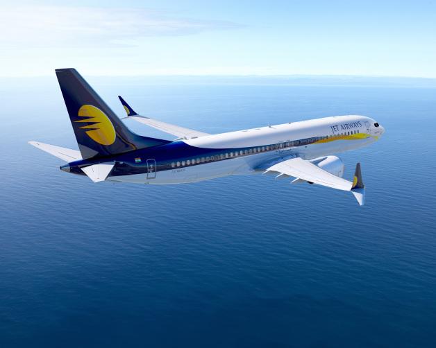 ニュース画像 1枚目:ジェットエアウェイズ 737 MAX 8