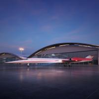 ニュース画像:AS2超音速ビジネスジェット、予備設計に着手 初飛行は2023年