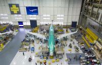 ニュース画像:ボーイング、737 MAX初号機を12月8日にもレントン工場でロールアウト