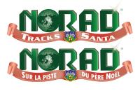 ニュース画像 1枚目:サンタ追跡ウェブサイトのロゴ