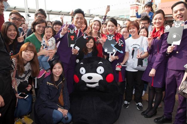 ニュース画像 1枚目:香港でも大人気のくまモン