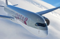 ニュース画像:カタール航空、2016年1月からA350を初めてアメリカ路線で運航へ