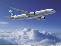 ニュース画像 1枚目:キャセイパシフィック航空塗装のA350-900、イメージ