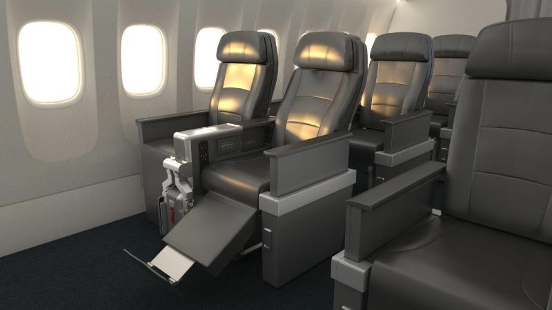 ニュース画像 1枚目:アメリカン航空が2016年後半に導入するプレミアム・エコノミー