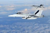 ニュース画像 1枚目:フィンランド空軍のF-18