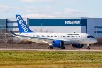 ニュース画像:ボンバルディア、 カナダ運輸省からCS100の型式証明を取得