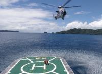 ニュース画像:鬼怒川堤防の決壊、自衛隊15機・消防6機・警察8機のヘリで救助活動