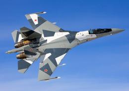 ニュース画像 1枚目:ロシア空軍最新のスホーイSu-35戦闘機