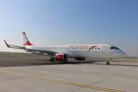 ニュース画像:オーストリア航空、ERJ-195の運航を開始 2017年までに17機体制に