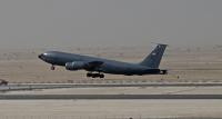 ニュース画像:カタール派遣の米空軍KC-135部隊、1年間で10万戦闘飛行時間を突破