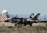 ニュース画像 1枚目:NASファロンのF/A-18A