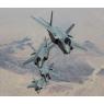 ニュース画像 8枚目:「Four in a Row」ルークAFB近くでトレイル編隊を解くF-35A