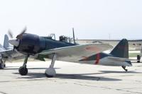 ニュース画像:零戦22型「AI-112」、試験飛行後の28日か29日に鹿児島空港へ移動