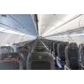 ニュース画像 4枚目:A320neoの機内、シートがA320と比べ増席された