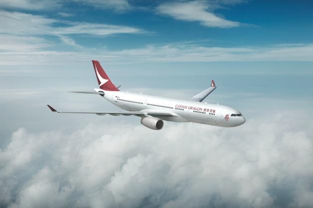 ニュース画像 1枚目:キャセイドラゴン航空の新塗装