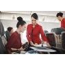 ニュース画像 4枚目:機内でのサービスはフルサービスで提供される