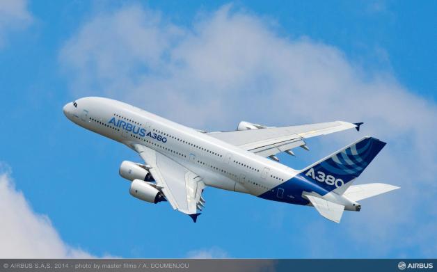 ニュース画像 2枚目:エアバス ハウスカラーのA380