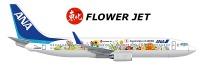 ニュース画像:ANA、東日本大震災5年で特別塗装機「東北FLOWER JET」を就航へ