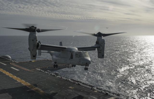 ニュース画像 1枚目:アメリカ海兵隊のMV-22B