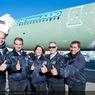 ニュース画像 2枚目:A330派生系242トンで初飛行したクルー