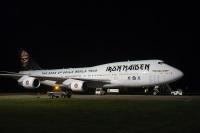 ニュース画像:アイアン・メイデンの世界ツアー、747のエド・フォース・ワンで出発
