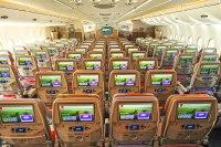 ニュース画像:エミレーツ、3カ月弱で22万人を輸送 2クラス制のA380で