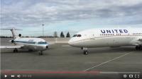 ニュース画像:ユナイテッドで活躍した727がラストフライト前に787-9と出会う【動画】