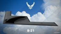 ニュース画像:B-2Aとそっくり!! アメリカの次期ステルス爆撃機「B-21」
