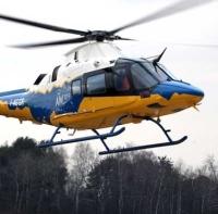 ニュース画像:スキッド装備のアグスタ・ウェストランドAW109トレッカー初飛行