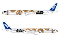 ニュース画像:BB-8 ANA JET、3月27日にロールアウト 3月28日から路線投入