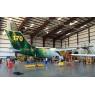 ニュース画像 3枚目:消防機に改造されるエア・スプレイのBAe146-200