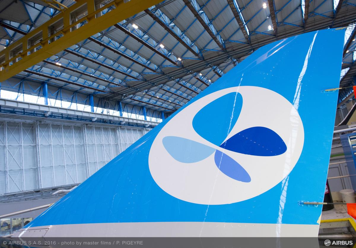 ニュース画像 1枚目:フレンチブルー向けA330の尾翼
