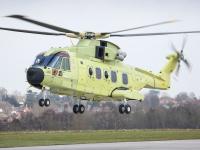 ニュース画像:フィンメカニカ、ノルウェー空軍向けAW101全天候救難ヘリで初飛行