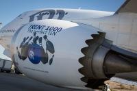 ニュース画像:ロールス・ロイス、トレント1000TENで初飛行 747テストベッドに搭載