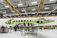 ニュース画像:ガルフストリーム、G600で胴体と主翼を接合 G500はTIAを獲得