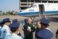 ニュース画像:空自U-4がインド、ラオス、ミャンマーをを訪問 各国で防衛交流を実施