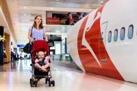 ニュース画像:カンタス航空、マイレージ上級会員資格の維持で「育休」制度を導入