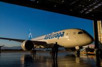 ニュース画像:エア・ヨーロッパ、787-8をパルマ・デ・マヨルカに初飛行