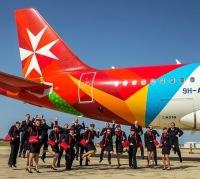 ニュース画像 1枚目:マルタ航空とそのスタッフ