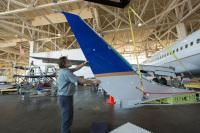 ニュース画像:ブレンディッド・ウィングレット、推定60億ガロンのジェット燃料を節約