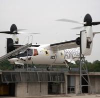 ニュース画像:AW609ティルトローター機、飛行試験3号機が地上試験を実施