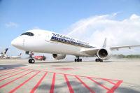 ニュース画像:シンガポール航空、アムステルダム線にA350投入 初の長距離線【動画】