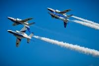 ニュース画像:ブルーインパルス、6月26日に福岡ヤフオクドーム上空を展示飛行