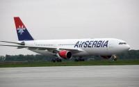 ニュース画像 1枚目:エア・セルビア塗装が施されたA330-200