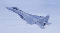 ニュース画像:防衛省、サミットの要人輸送、空の警戒監視体制を整える F-15も対応