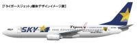 ニュース画像:スカイマーク、5月21日にタイガースジェットを神戸空港で一般公開